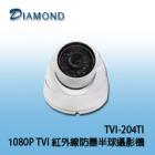TVI-204TI 1080P TVI 紅外線防暴半球攝影機