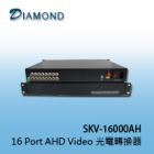 SKV-16000AH  16 Port AHD Video 光電轉換器