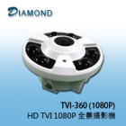 TVI-360(1080P) HD TVI 1080P 全景攝影機