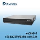 6408HD 8 路數位矩陣電視牆控制主機
