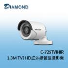 C-725TVIHIR  1.3M TVI HD紅外線管型攝影機
