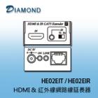 HE02EIT / HE02EIR HDMI (HD BaseT) & 紅外線網路線延長器