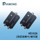 HD102A 2路訊號集中/擴充器