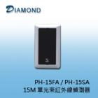 PH-15FA (埋入)  / PH-15SA (露出) 15M 單光束紅外線偵測器 (室內型)