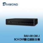 RAV-0813M-J 8CH DVR數位錄影主機