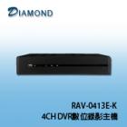 RAV-0413E-K 4CH DVR數位錄影主機