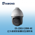 DS-2DE5120IW-AE 130萬畫素5吋紅外線網路高清智慧球型攝影機