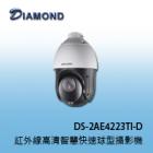 DS-2AE4223TI-D 1080P 紅外線高清智慧快速球型攝影機