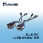 TL-HD-PVT HD單路信號傳輸+電源