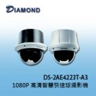 DS-2AE4223T-A3 1080P 高清智慧快速球型攝影機