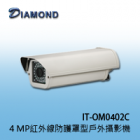 IT-OM0402C   MP紅外線防護罩型戶外攝影機
