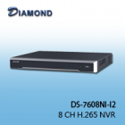 DS-7608NI-I2 8 CH H.265 NVR