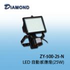 ZY-500-25-N 戶外25W LED感應燈
