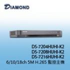 DS-7204HUHI-K2 6ch 5M H.265 2HDD 專業版XVR