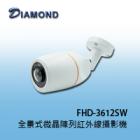 FHD-3612SW 1080P 全景式微晶陣列紅外線攝影機