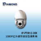 IP-PTIR12-30X IP DOMO 1080P 百萬畫素紅外線快速球型攝影機