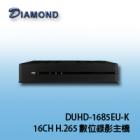 DUHD-1685EU-K H.265 16CH Digital DVR