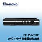DR-XS0479HF  AHD 1080P 數位高畫質混合式監控錄影系統
