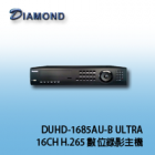 DUHD-1685AU-B ULTRA H.265 16CH Digital DVR