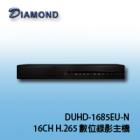 DUHD-1685EU-N H.265 16CH Digital DVR