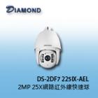 DS-2DF7225IX-AELW 2MP 25X 含雨刷 網路紅外線快速球
