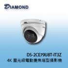 DS-2CE79U8T -IT3Z 4K 星光級 TVI 電動變焦塔型攝影機