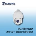 DS-2DE7232IW-AE 2MP 32x網路紅外線快速球