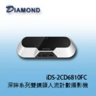 iDS-2CD6810FC IVS AI深眸系列雙鏡頭人流計數攝影機