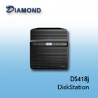 Synology DS418j  4bay DiskStation