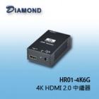 HR01-4K6G 4K HDMI 2.0 中繼器