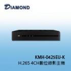 KMH-0425EU-K H.265 4CH數位錄影主機
