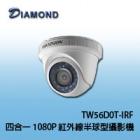 TW56D0T-IRF 1080P  TVI  HD紅外線半球型攝影機