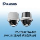 DS-2DE4225W-DE3  2MP 25X 星光級 網路型快速球