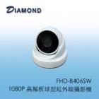 FHD-B406SW 1080P 高解析球型紅外線攝影機