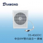 DS-406SDC 中型6W雙向語音一 體機
