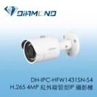 DH-IPC-HFW1431SN-S4 H.265 400萬紅外線管型IP攝影機