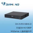 DH-XVR5108HS-I2 大華 8路5M-N/1080P WizSense 人臉辨識XVR