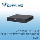 DH-XVR5116H-4KL-I2 16路4K-N/5MP WizSense 人臉辨識XVR