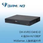DH-XVR5104HE-I2 大華4 路5M-N/1080P WizSense 人臉辨識XVR