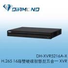 DH-XVR5216A-X H.265 大華Dahua 16路雙硬碟智慧型五合一 XVR