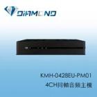 KMH-0428EU-PM01 4CH同軸音頻主機