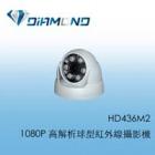 HD436M2 1080P 高解析球型紅外線攝影機