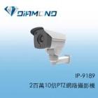 IP-9189 2百萬10倍PTZ網路攝影機