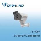 IP-9059 2百萬4倍PTZ網路攝影機