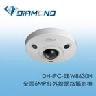 DH-IPC-EBW8630N 大華全景6MP紅外線網路攝影機