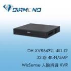 DH-XVR5432L-4KL-I2 大華32 路 4K-N/5MP WizSense 人臉辨識 XVR