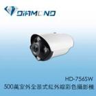HD-756SW 500萬室外全景式紅外線彩色攝影機