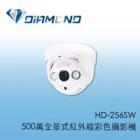 HD-256SW 500萬全景式紅外線彩色攝影機