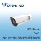 N6011M-A 3S 5MP 紅外線一體型電動變焦網路攝影機
