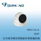 N9011M-A 3S 5MP 紅外線海螺型電動變焦網路攝影機